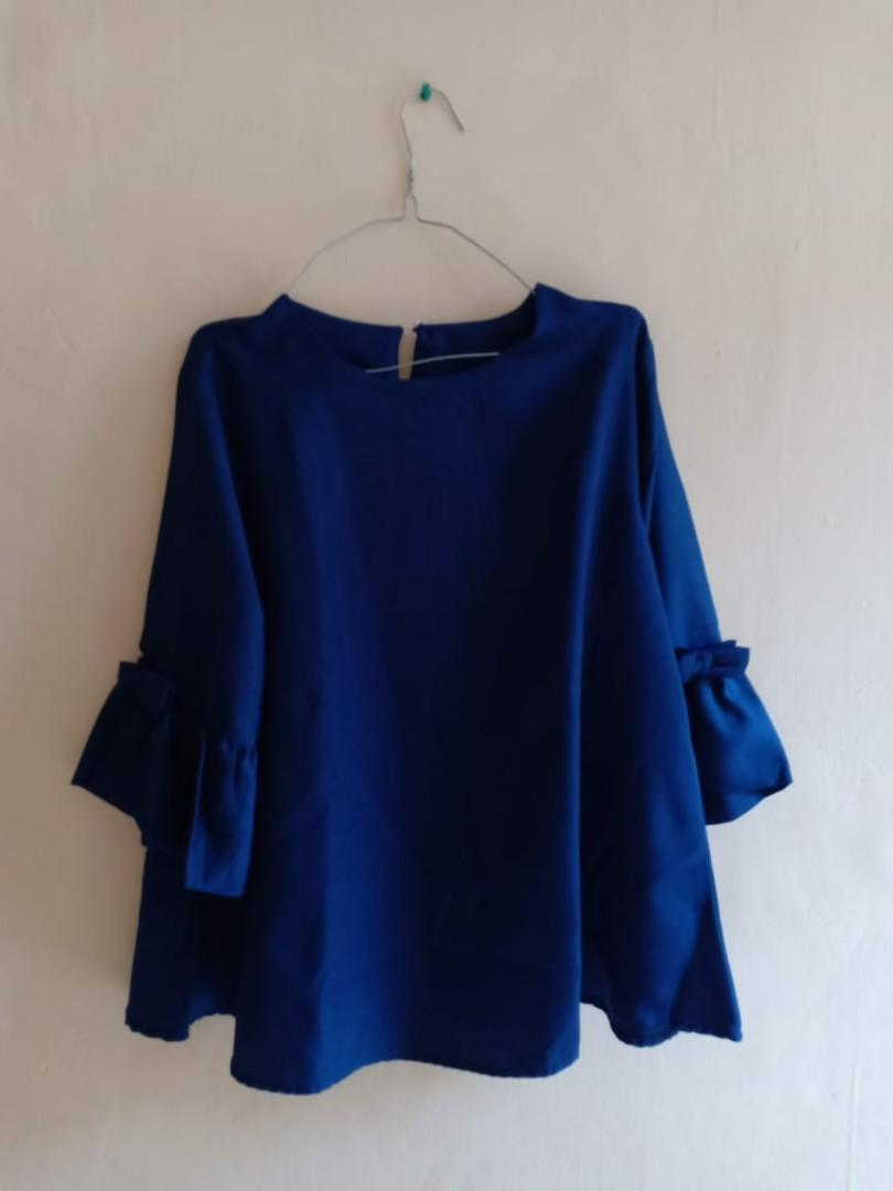 #mauthr - Navy Blouse