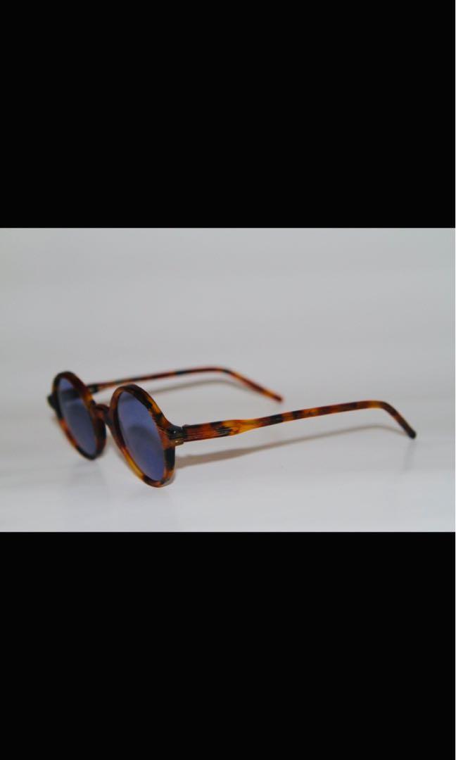 OBLYK Eyewear TUNDO TORTOISE GRAFFIATO MATTE Sunglasses S/M.