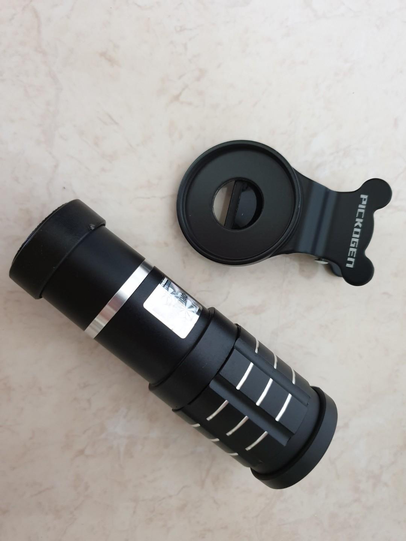 Pickogen lensa tele zoom 12x