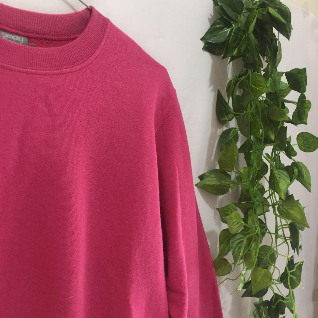 Pink sweater (lil bit crop)