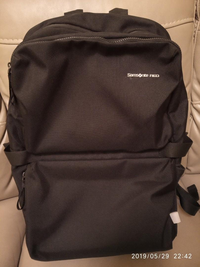 Samsonite Red Backpack CLOVEL