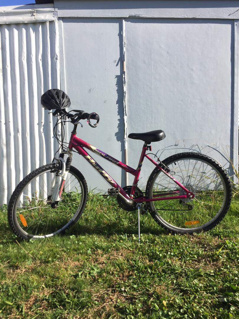 Solana Huffy Mountain Bike (comes with helmet and lock)