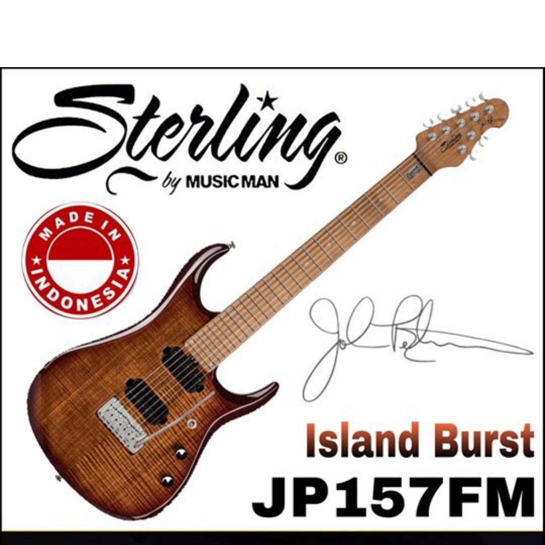 Sterling by Music Man JP157FM John Petrucci Signature Electric Guitar, ILB