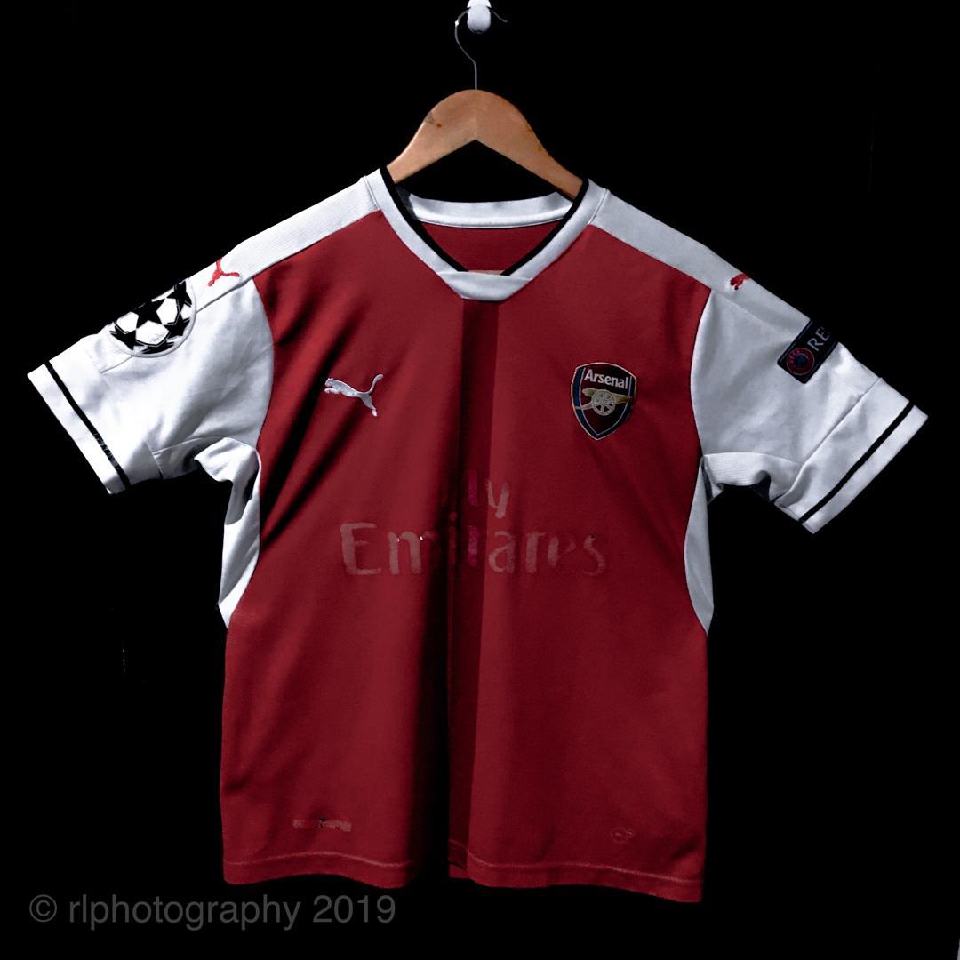new arrival 2d761 868e7 THAI KIT] Arsenal Home 16/17 Alexis Sanchez Football Jersey ...