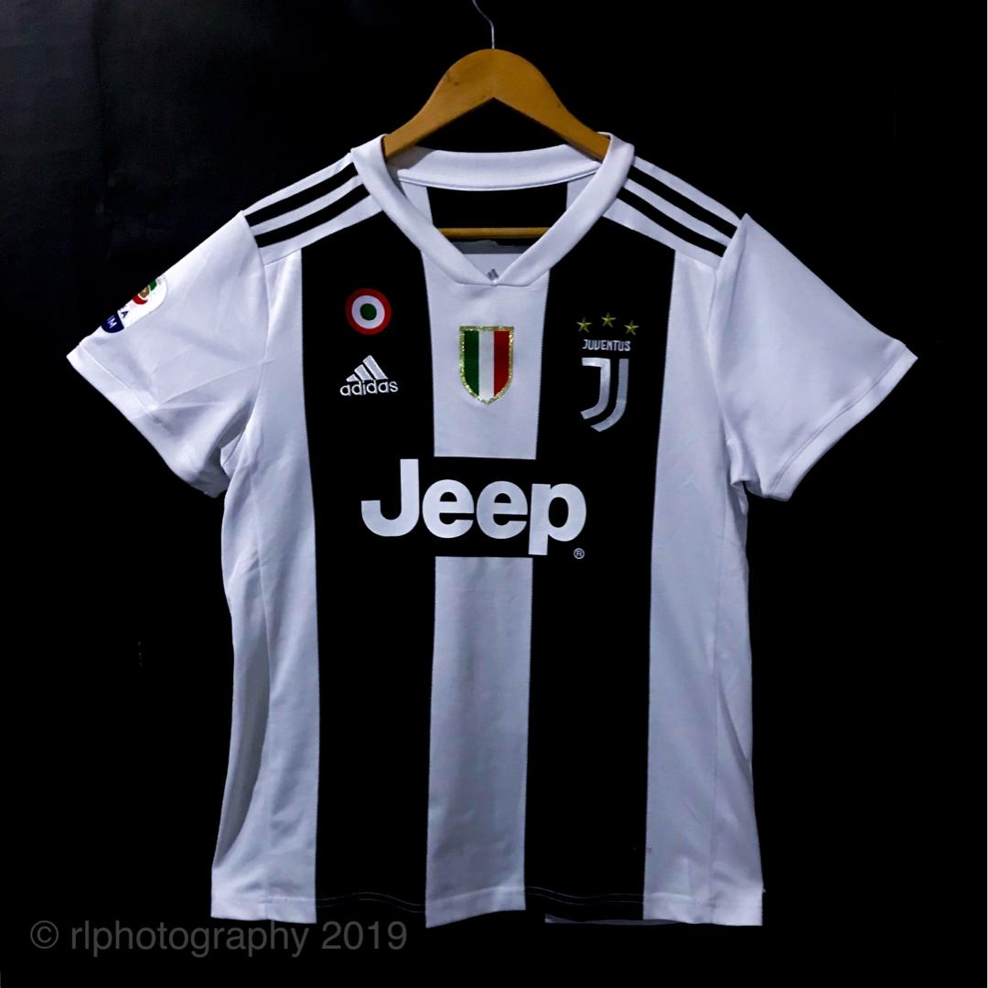 new product 92502 53d62 THAI KIT] Juventus Home 18/19 Cristiano Ronaldo (CR7) with ...