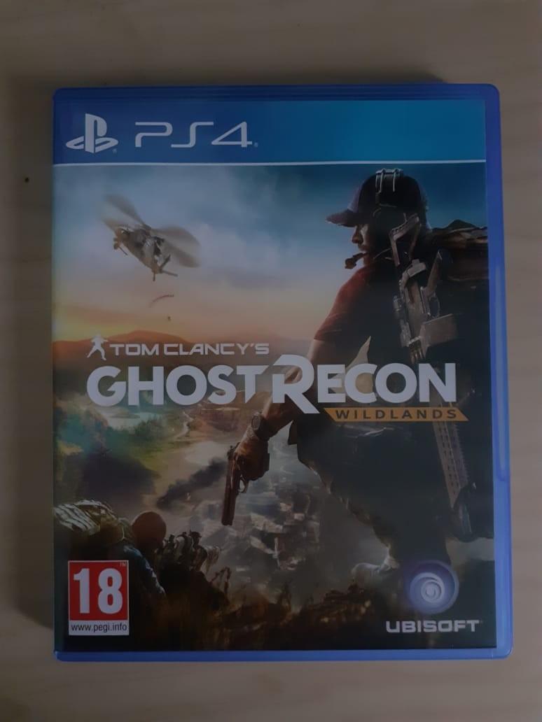 Tom Clancy's Ghost Recon: Wildlands Kaset Ps4
