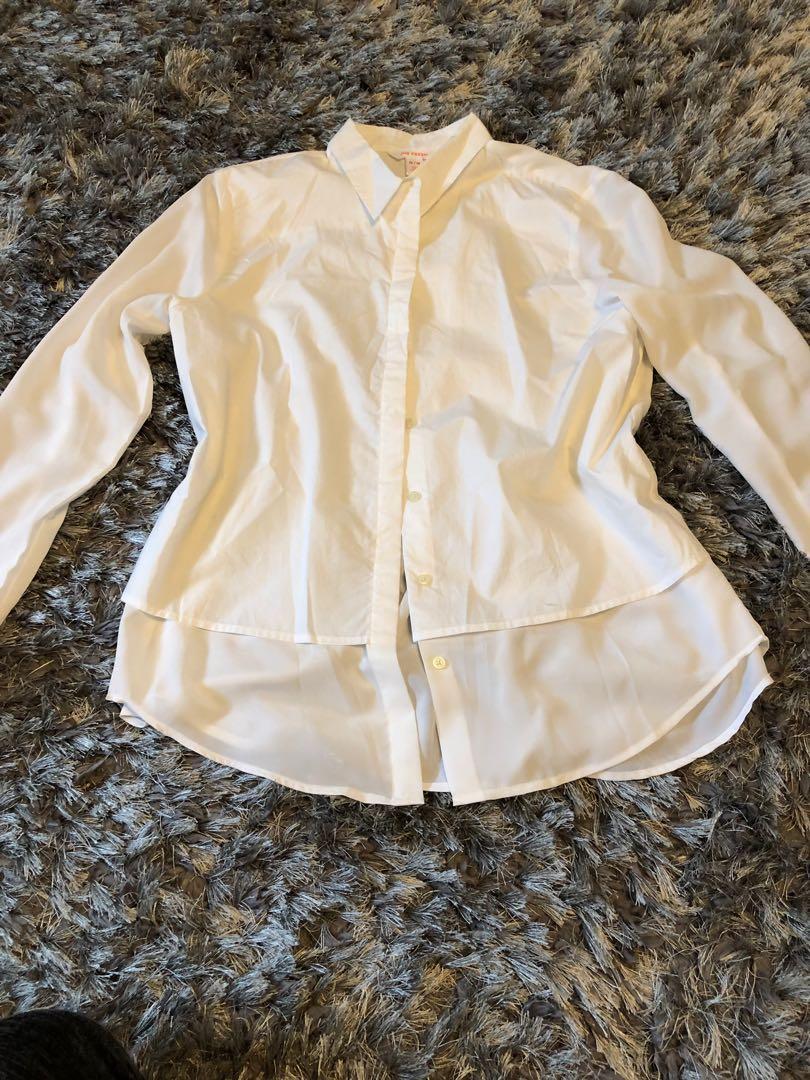 White shirt. For work or summer. Brand new