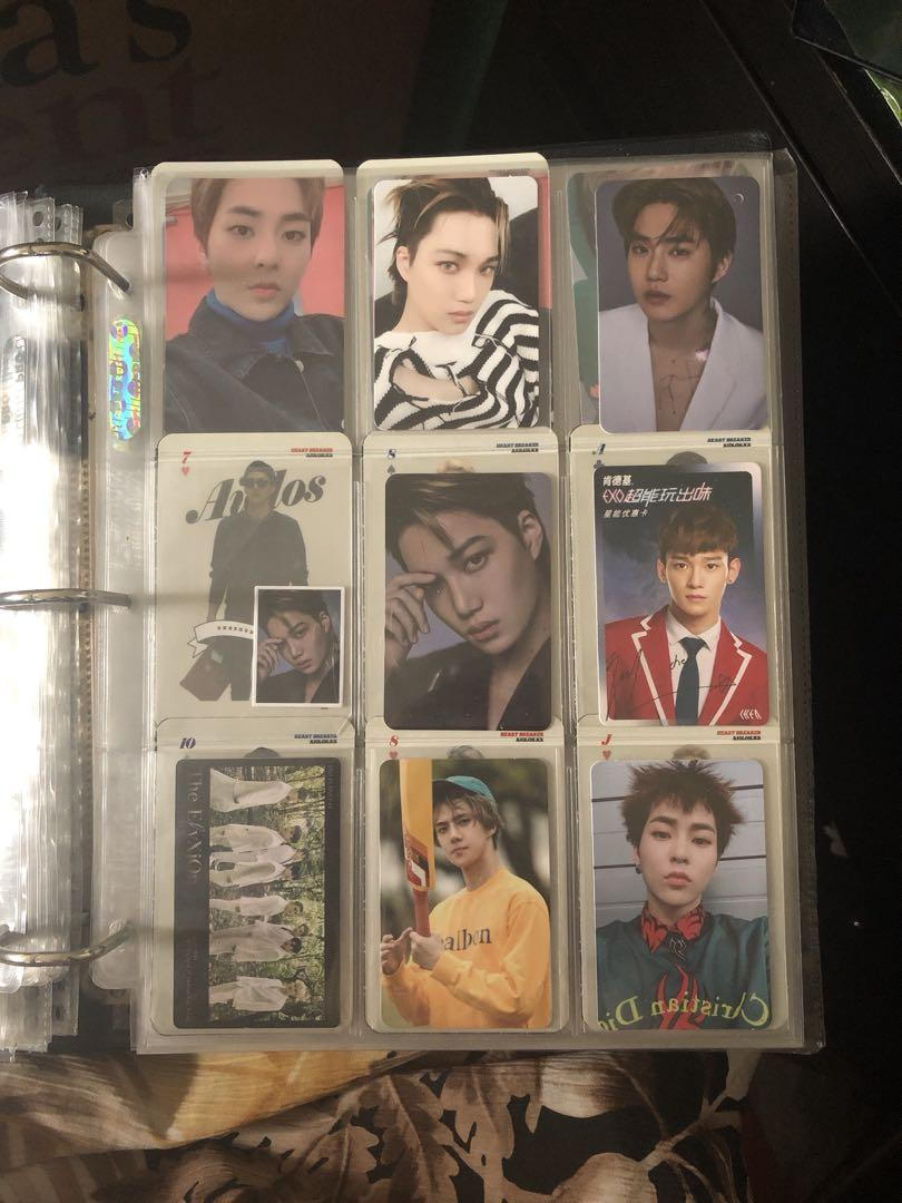 Wts exo photocard