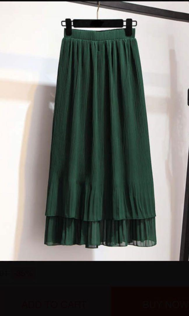 Xs skirt   Perfect for summer. Brand new. Pleated