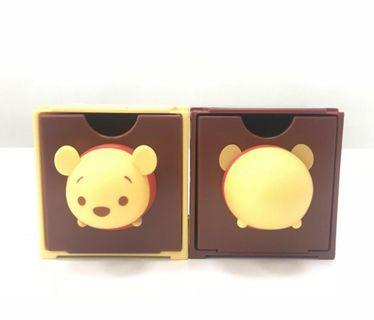 7仔 tsum tsum Winnie the Pooh 1 set 2個收納箱