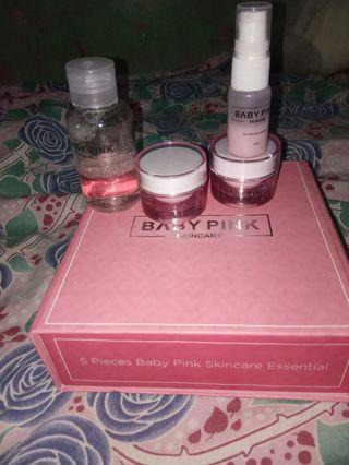Preloved BABY PINK SKINCARE