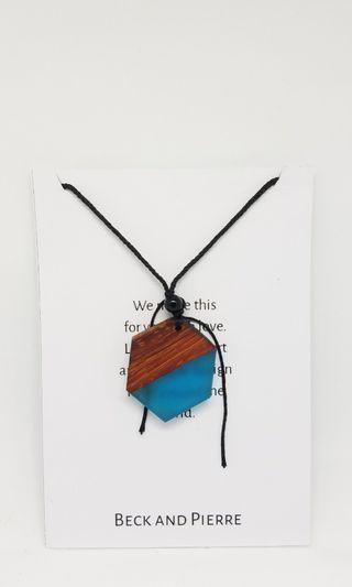 Handmade necklace wooden / kalung tumblr