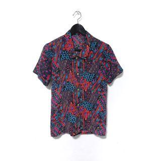 """Katya"" Vintage Abstract Shirt"