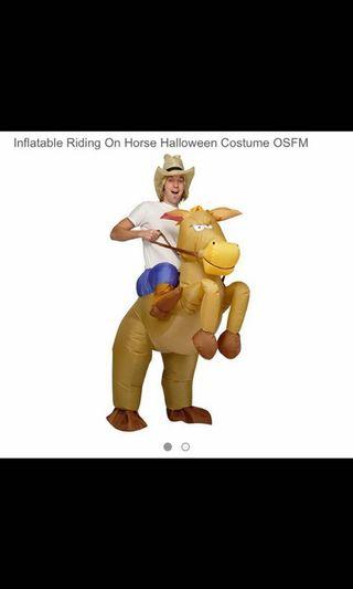 Rental of Horse outfit costume suit halloween party