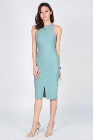 🚚 Reyna Bodycon Midi Dress #MRTRaffles