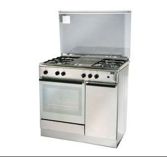 TURBO free standing cooker (90cm) 1+4  & BI/ OVEN