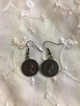 🚚 金幣耳環