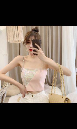 🚚 Sexy Korean Chain Top