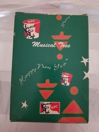 KFC旋轉音樂樹 1999年產品