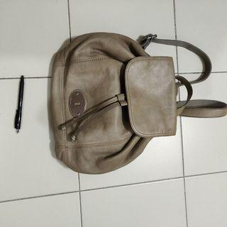 Authentic fossil ladies backpack haversack