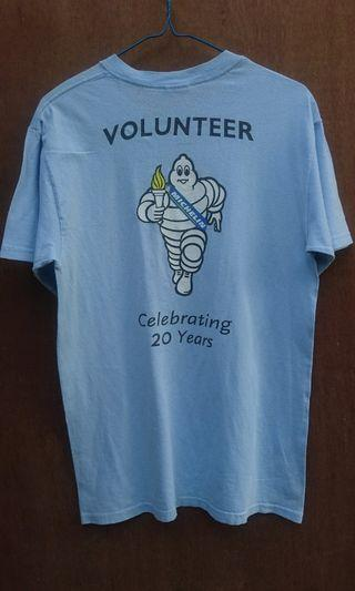 Gildan Michellin Special Olympics Shirt Kaos Size L #mauthr