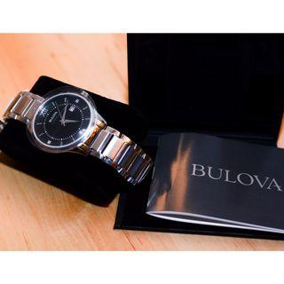 Bulova Diamond Chrome Watch