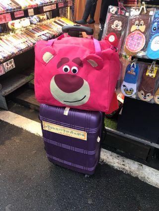 勞蘇拉桿行李袋 收納袋 有肩帶