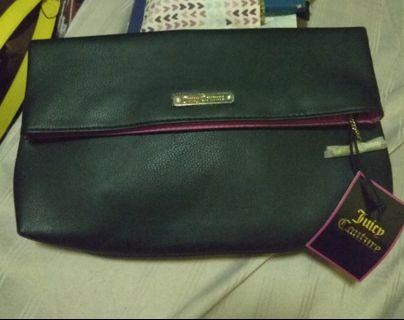 Juicy Couture black clutch bag