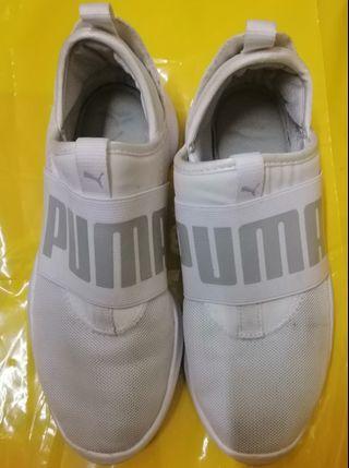 Puma super light jogging shoes.