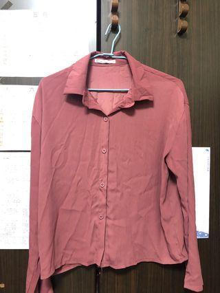 乾燥玫瑰色襯衫
