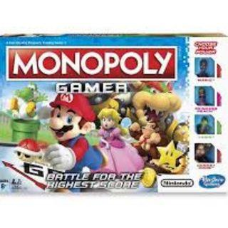 Mario Monopoly Gamer Board Game
