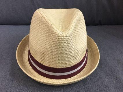 🚚 草編紳士帽