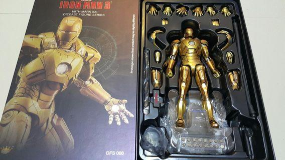 先閱文,後發問 Marvel Ironman 3 King arts Diecast IRONMAN MARK 21 1:9 scale