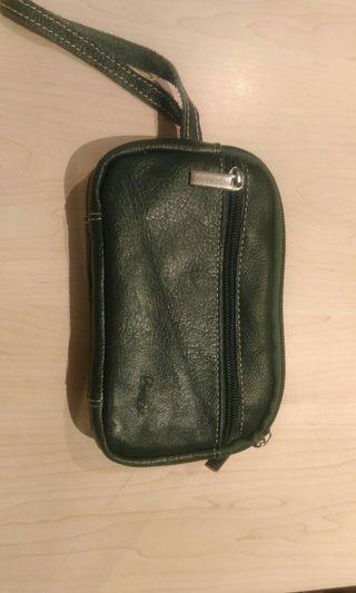 🚚 綠色真皮包包