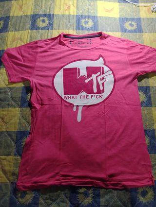KAOS T-SHIRT PLESETAN MTV MURAH