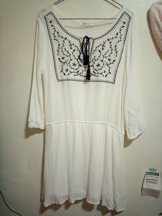 🚚 雪紡小洋裝