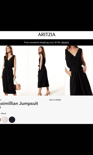 Aritzia Maximillian jumpsuit