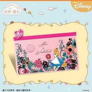 (可交換) 7-11 迪士尼Disney 童夢遊世界 隨行 愛麗絲夢遊仙境長方形系列隨行袋 No.3號 妙妙貓 #711 #7-eleven #7仔