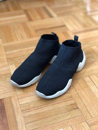 Zara Knitted Sock Sneakers