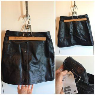 BNWT Leather Look Skirt