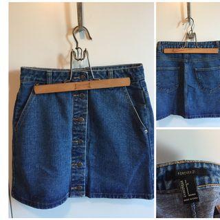 Sm Jean skirt - Never worn