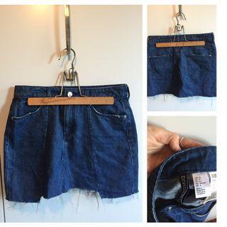 Jean Skirt size 6