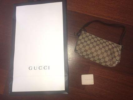 AUTHENTIC Gucci Monogram Small Shoulder Bag