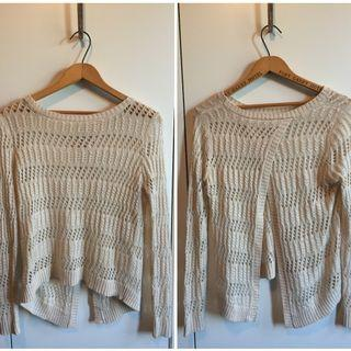 Urban Oufitters Backless Knit Top