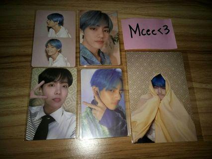 BTS MOTS Persona Photocard/Postcard