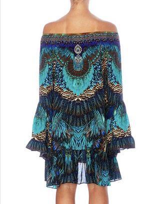 CAMILLA - The Creator A Line Frill Dress XL
