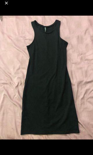 cotton on bodycon dress black