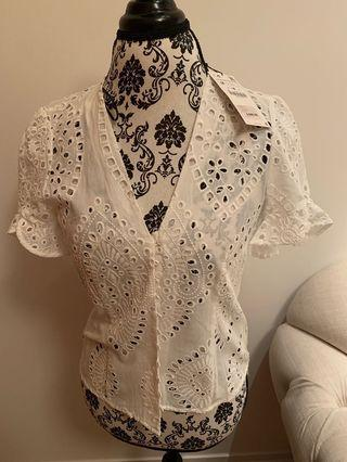 🚚 Zara lace crop top