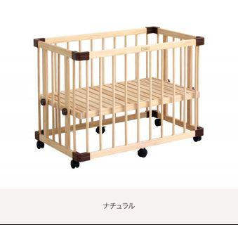 Farska baby cot. W95— D65— H70cm. Good condition. Currently disassembled