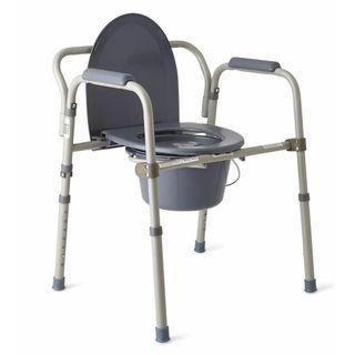Used Mobile Toileting Commode For Elderly/Handicap